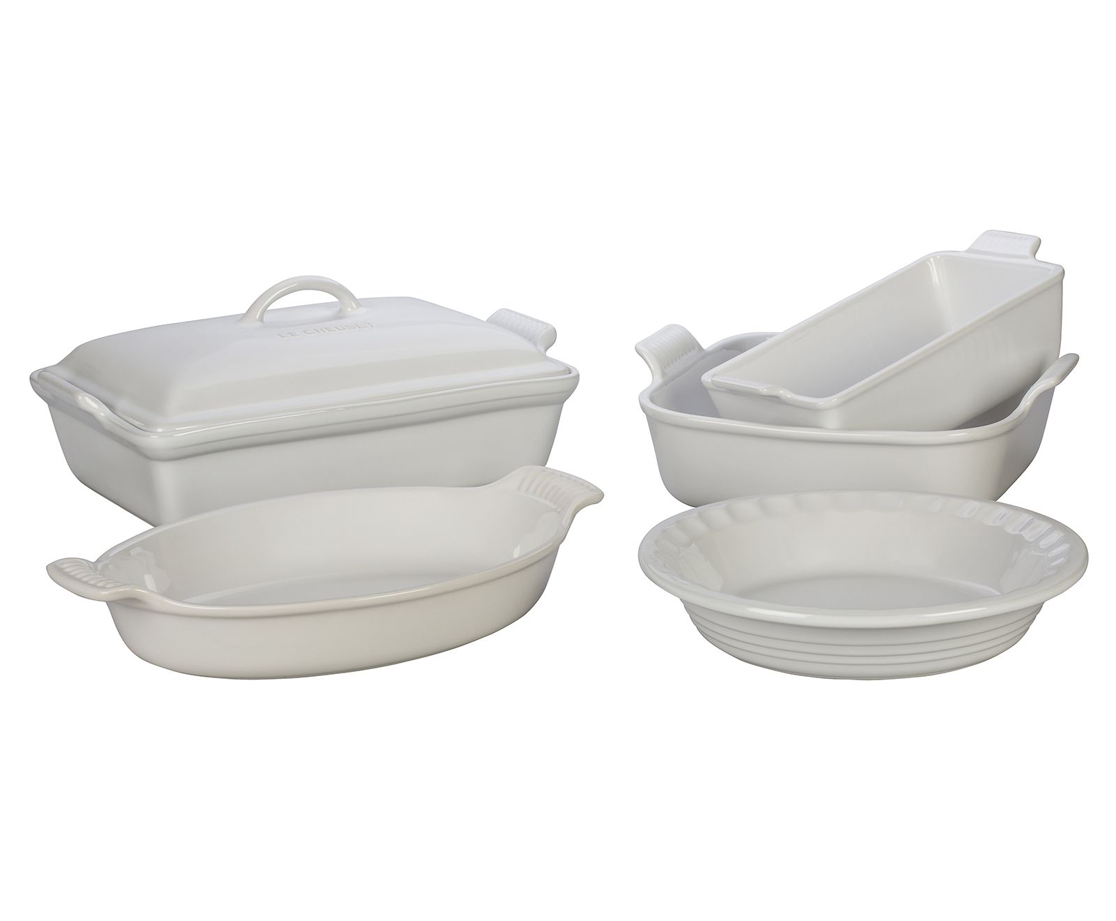 Le Creuset 5 Piece Heritage Bakeware Set White In 2020