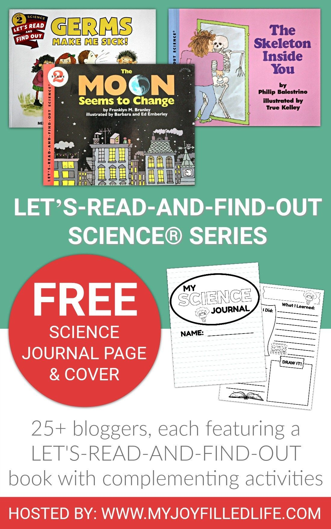 Let's Read and Find Out Science Books and Activities - 25+ bloggers, each featuring a Let's Read and Find Out book with complementing activity.