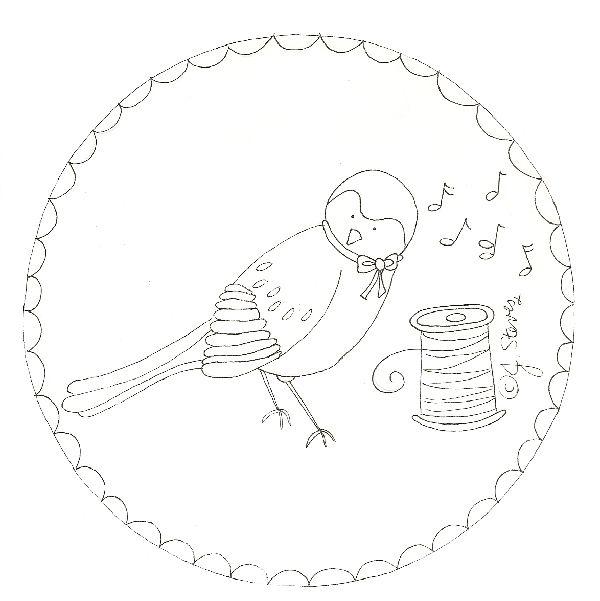 Bird StitcheryJacquelynneSteves | Embroidery | Pinterest | Bordado y ...