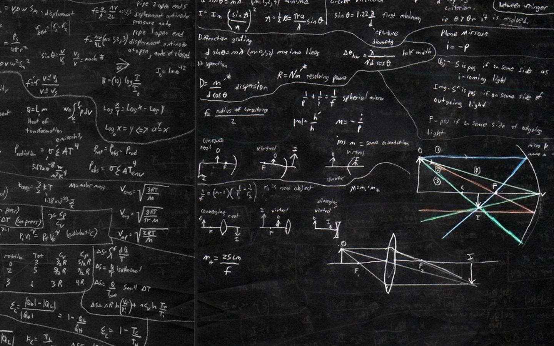 blackboard and math macbook pro wallpapers [ 1440 x 900 Pixel ]
