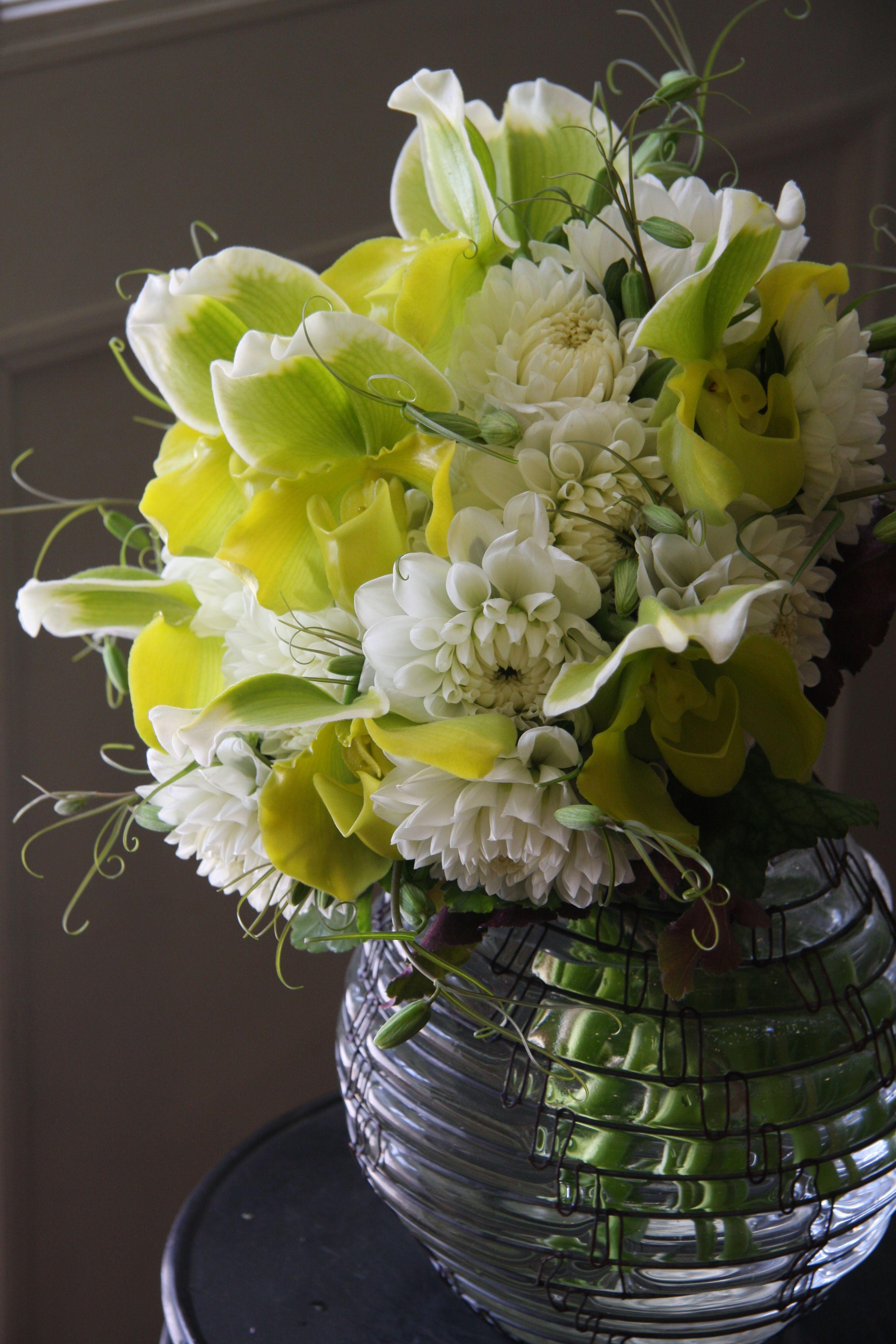 Floral arrangement orchid and dahlia flower arrangements floral arrangement orchid and dahlia izmirmasajfo