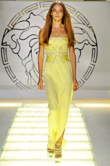 Passion For Luxury: Versace Spring-Summer 2012