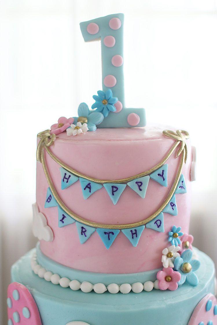 Hot Air Balloons Birthday Cakes Balloon birthday cakes