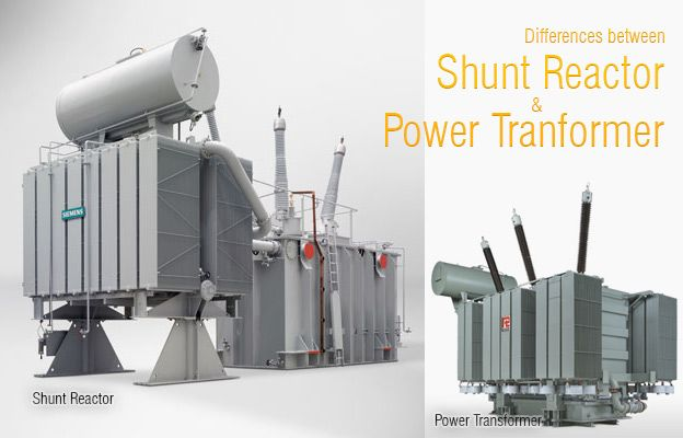 Differences Between Shunt Reactor And Power Transformer Eep Transformers Power Electrical Substation