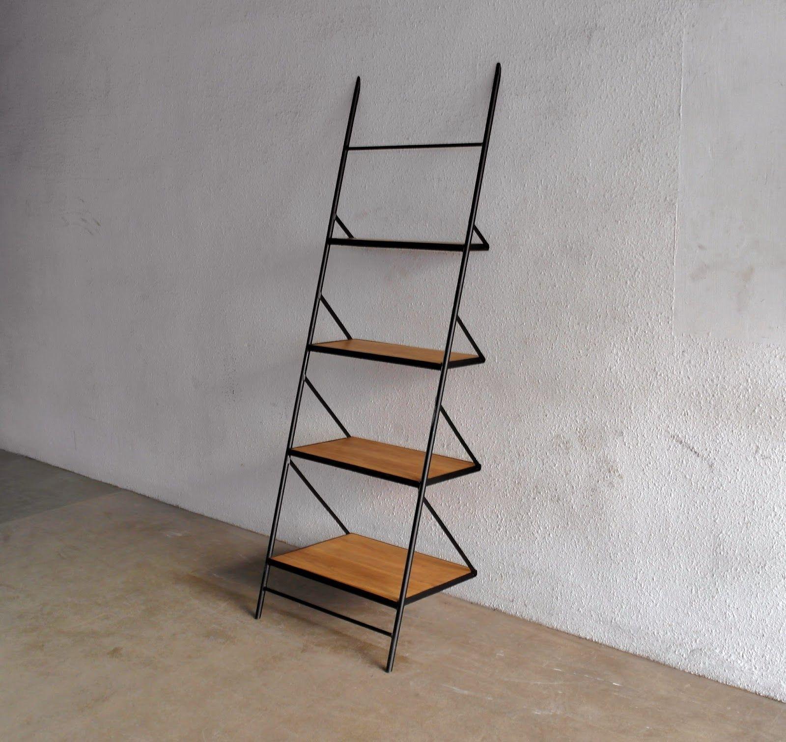 Pin By Sophan Basir On Living Room Ideas Wood Ladder Shelf