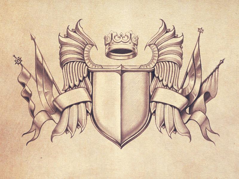 Тату картинки и их герб