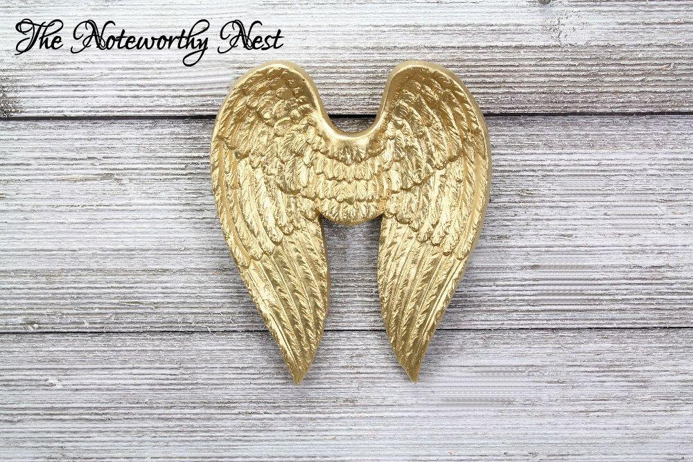 Angel Wings / Gold Wings // Angel Wings Wall Decor // Angel Decor ...