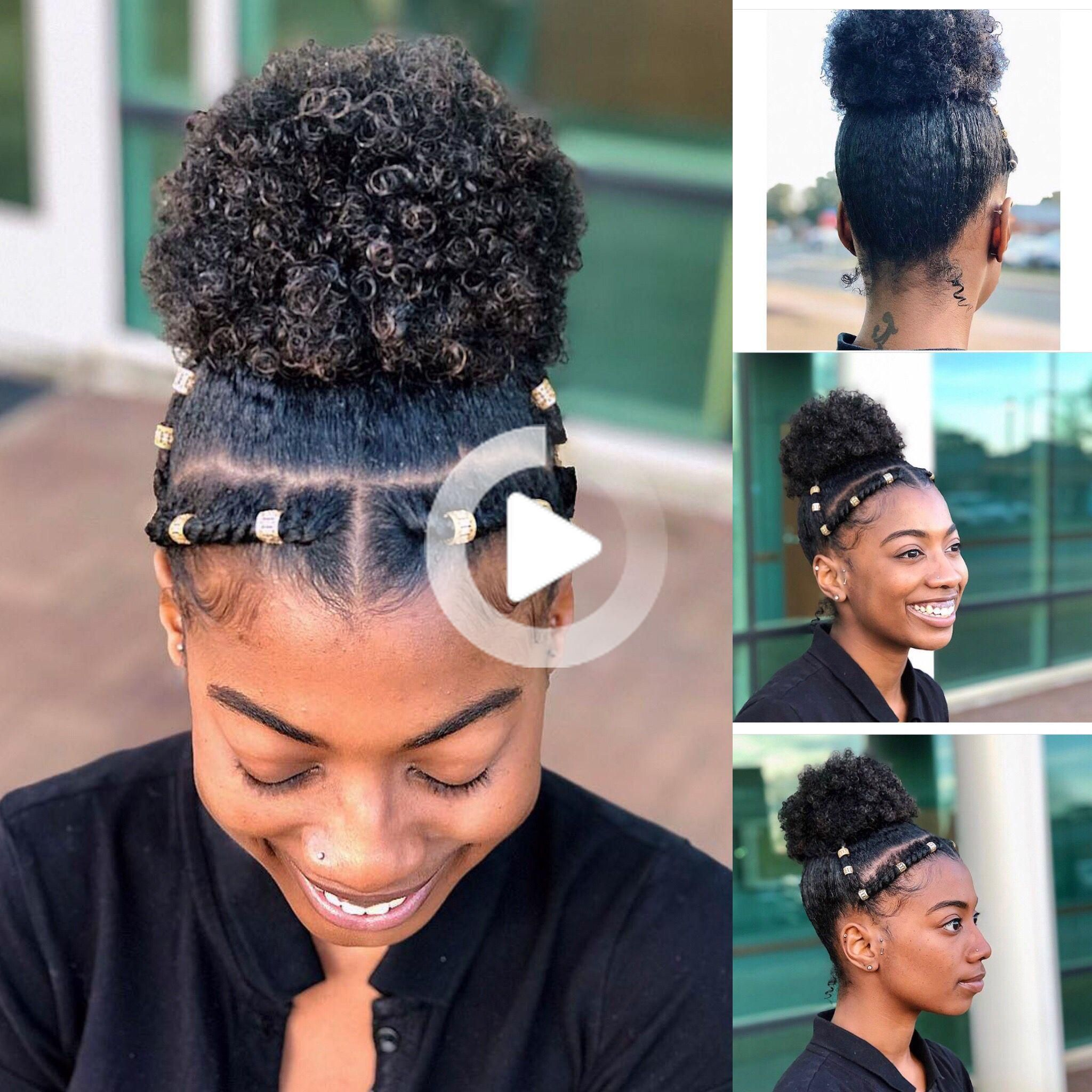 10 Different Hairstyles To Make Your Twist Out Last Longer Coiffure Cheveux Naturels Coiffure Naturelle Idee Coiffure Cheveux Crepus