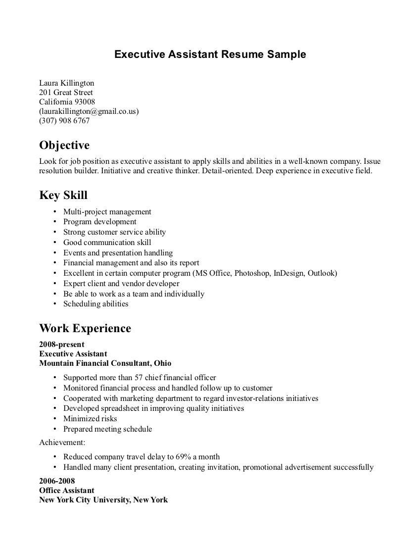 sample resume format medical receptionist office cover letter ...