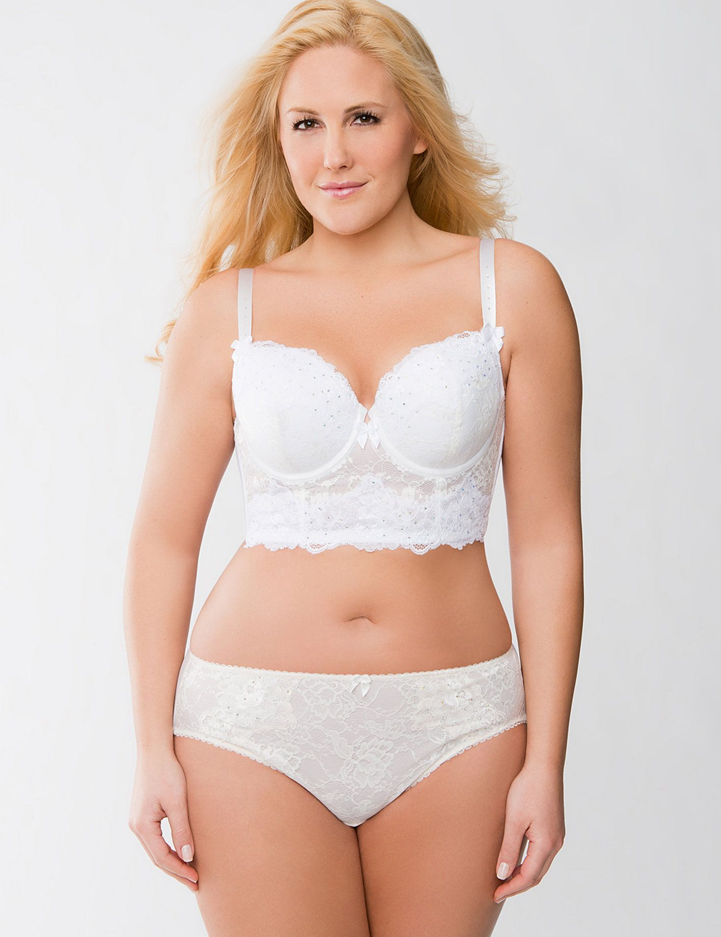 Sexy plus size wedding lingerie