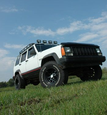 Jeep Xj Suspension Lift With Images Jeep Cherokee Jeep