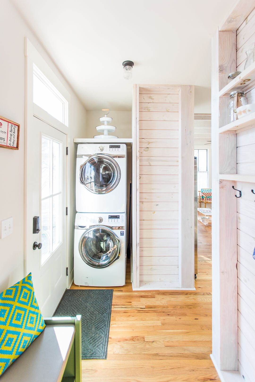Home Tour: Boho Vintage Lake Cottage | Bunk rooms, Small space ...