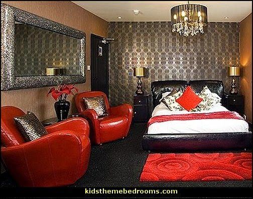 Boudoir Victorian Gothic Style Bedroom Decorating Ideas Gothic