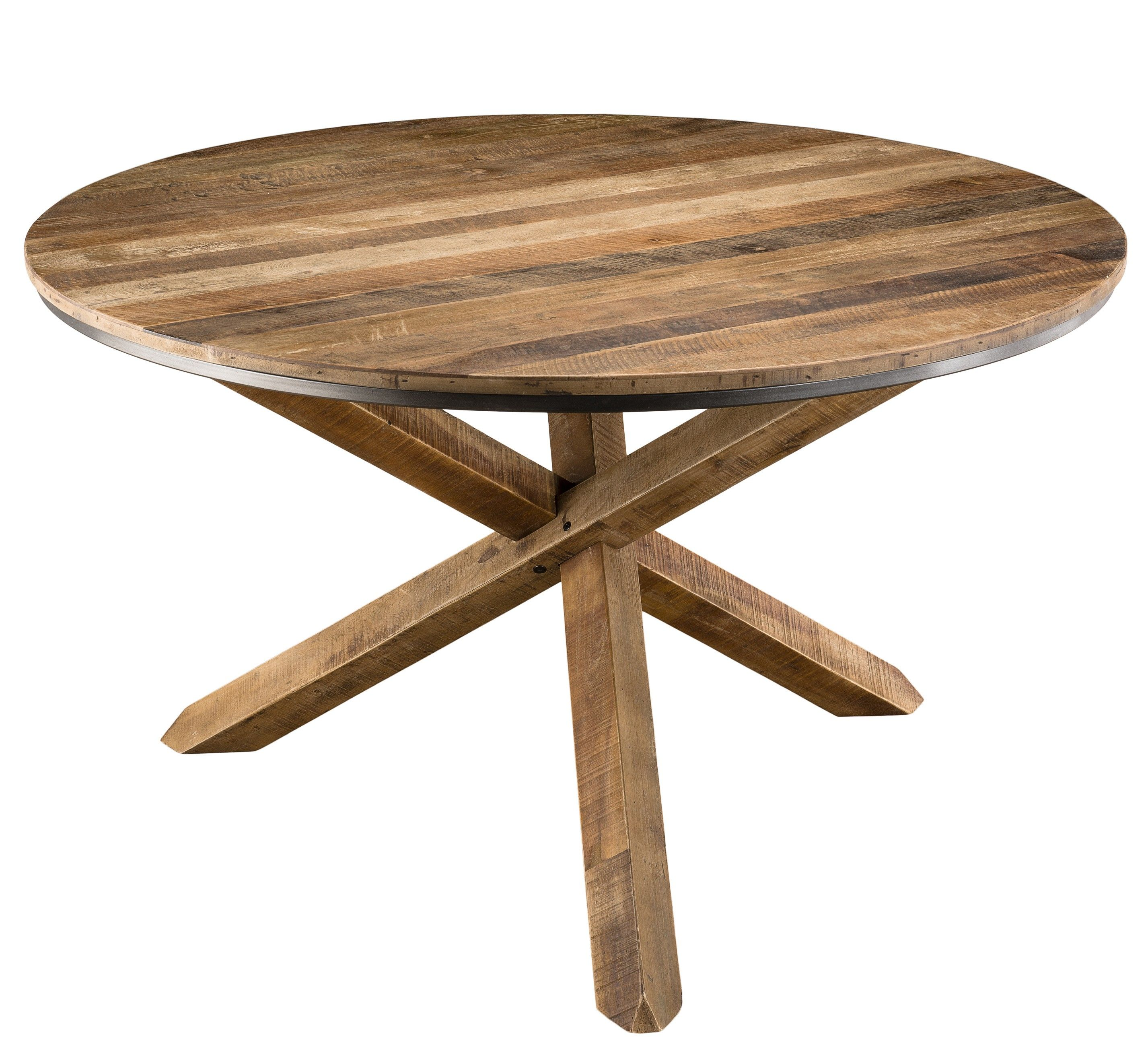 table ronde bois table bois massif