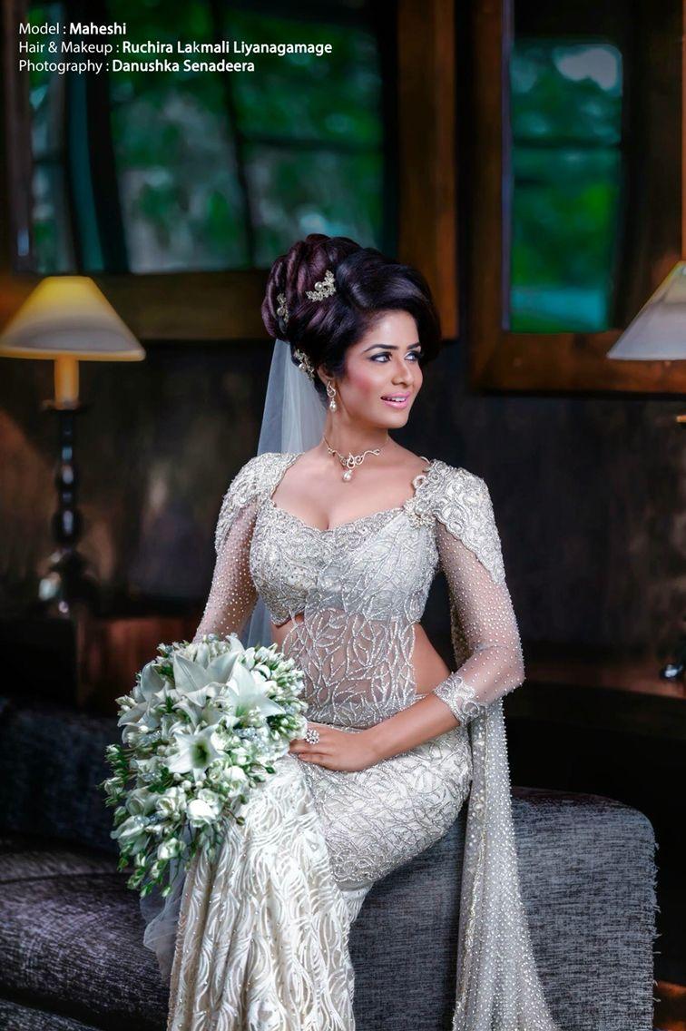 srilankanwedding #modernkandyan #bridalsaree | Incredible Indian ...