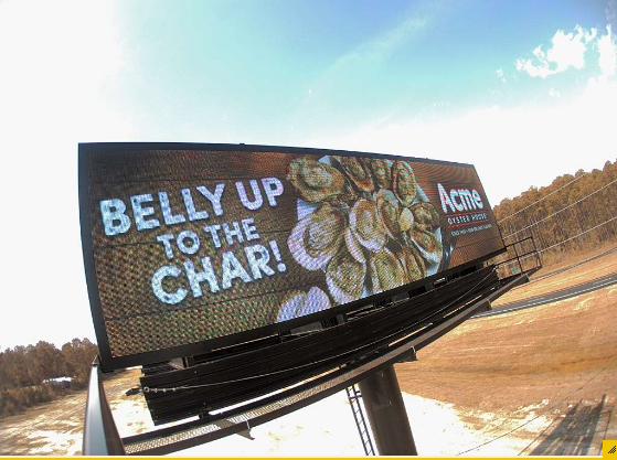 CaptureACMEBellyUp.PNG Billboard design, Billboard, Design