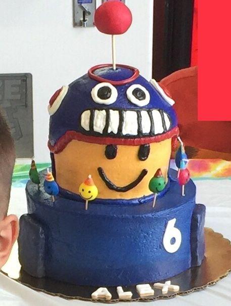 DanTDM Roblox Cake #DanTDM #Roblox #cake #birthday | Roblox
