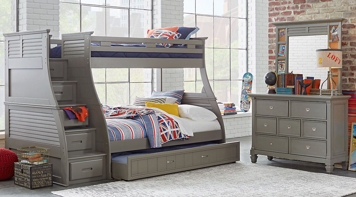 Affordable Belmar Bunk Bedroom Sets Rooms To Go Kids Furniture