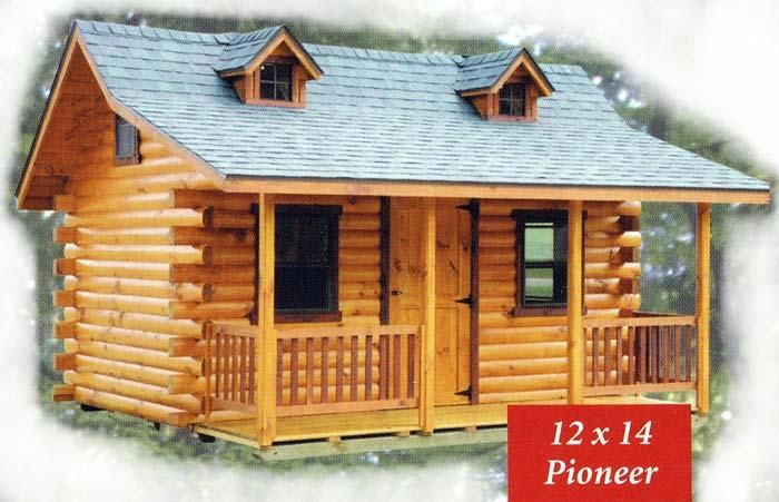 Play Cabin Pioneer Log Cabin Log Cabins Playhouses Sunrise Log Cabins Small Log Cabin Log Cabin Plans Tiny Log Cabins