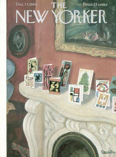 Beatrice Szanton : Cover art for The New Yorker 1870 - 17 December 1960