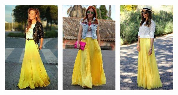 Looks inspiradores con falda larga   Cuidar de tu belleza es facilisimo.com