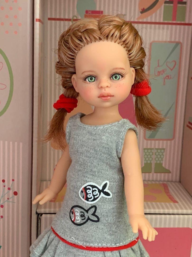 OOAK Cristi Paola Reina doll, With make up, 32 Cm | eBay
