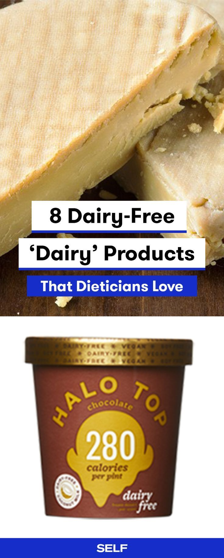 8 Dairy-free dairy products that dietitians love - Best Lactose Free Diet #dairyfreesmoothie