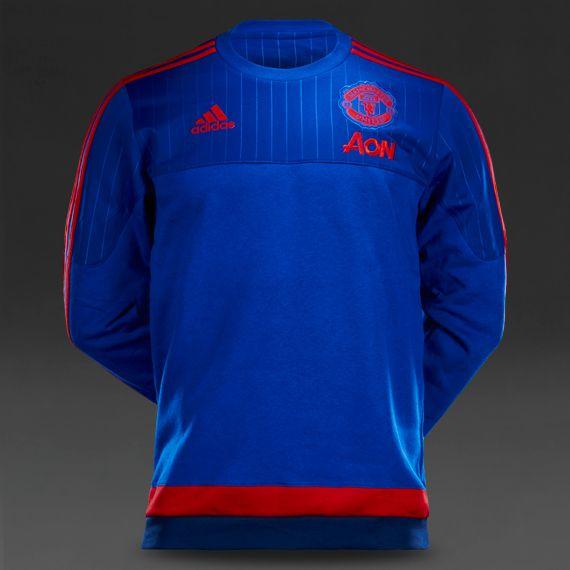 Fan Apparel & Souvenirs adidas Manchester United Royal Core T-Shirt