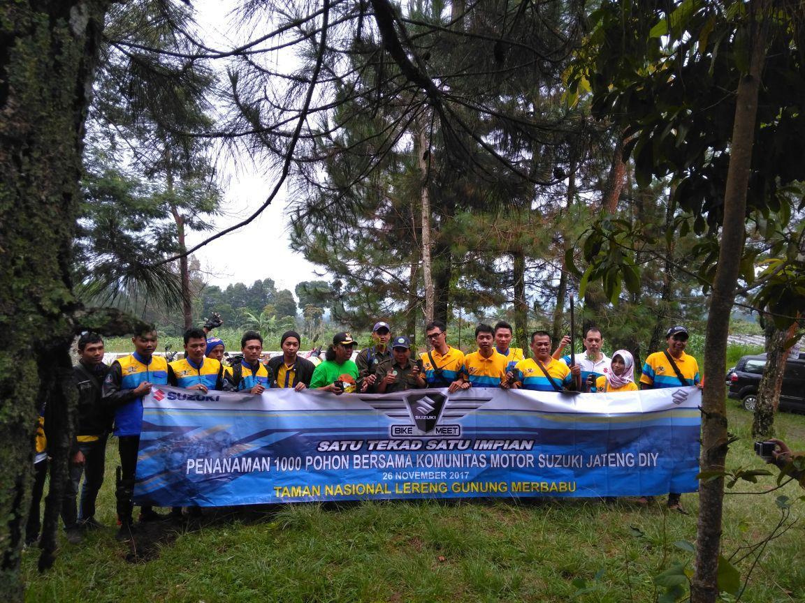 Suzuki Bike Meet Regional Jawa Tengah Sukses Digelar di