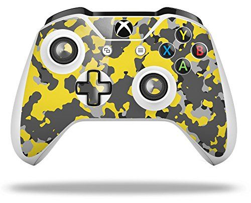 Wraptorcamo Old School Camouflage Camo Yellow Decal Style Skin Fits