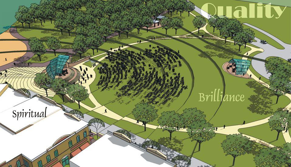 Arnold S Park Outdoor Amphitheatre Rdg Planning Design