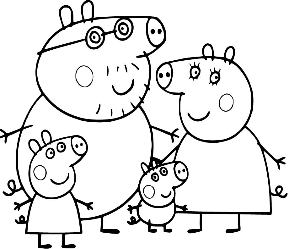 Pin De Antonella Saito En Peppa En 2020 Dibujo De Peppa Pig Peppa Pig Para Colorear Peppa Para Pintar