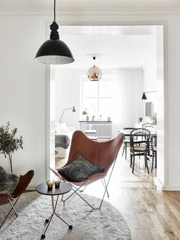 Skandinavische Einrichtungsideen skandinavische möbel im wohnzimmer inspirierende einrichtungsideen