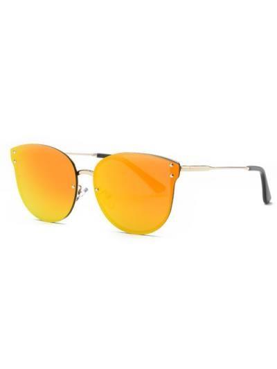 2a7ca0f80d Sin marco con espejo gafas de sol del ojo de gato | Sunglasses ...