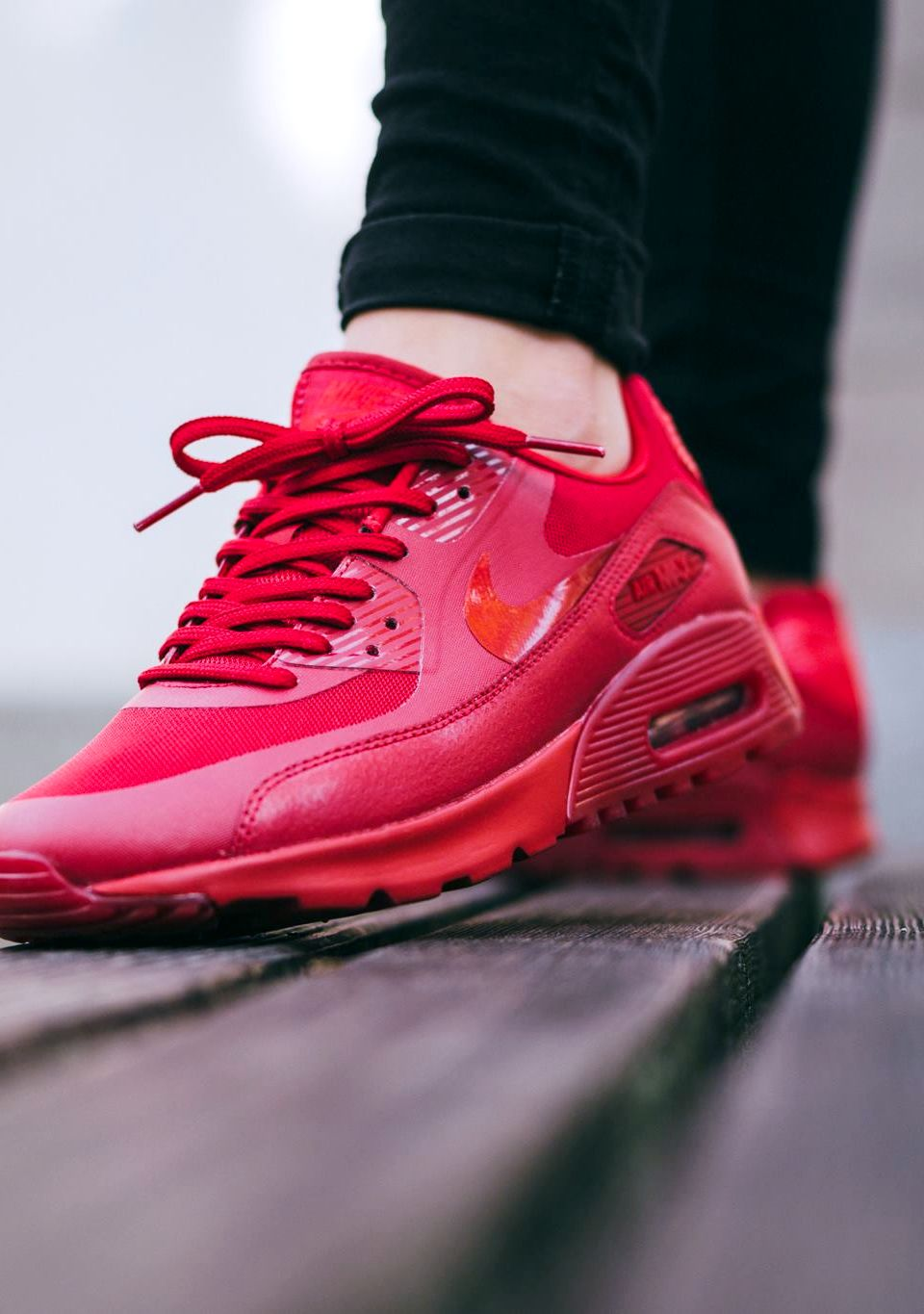 Nike Wmns Air Max 90 Ultra Essential Gym Red Gym Red