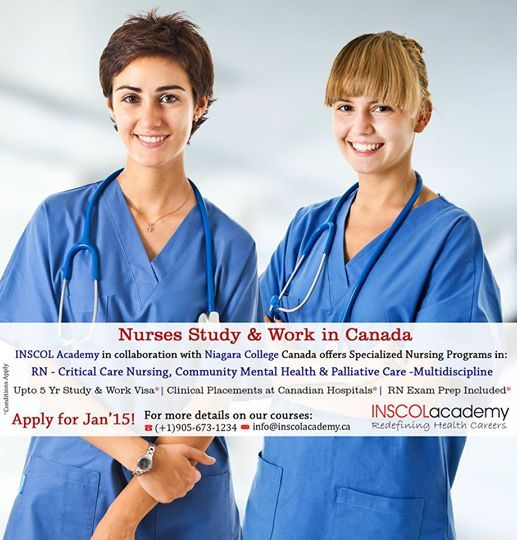 Pin By Inscol Canada On Nursing Courses Canada Nursing Courses Critical Care Nursing Nursing Programs