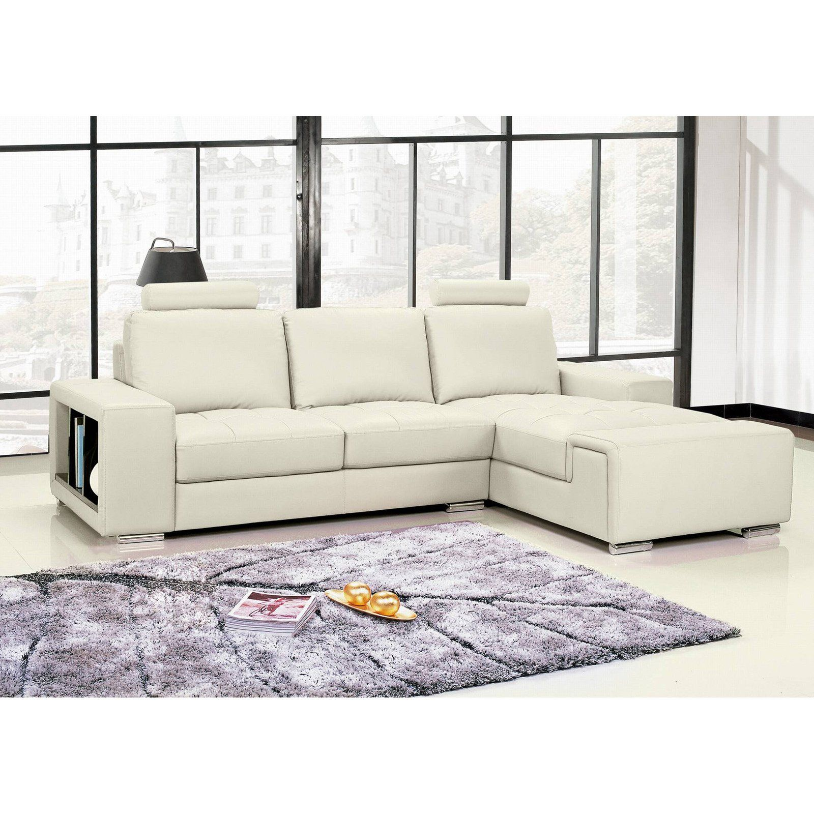 Have to have it. A C Pacific Jasmine Leather Sectional $1599.99 ...