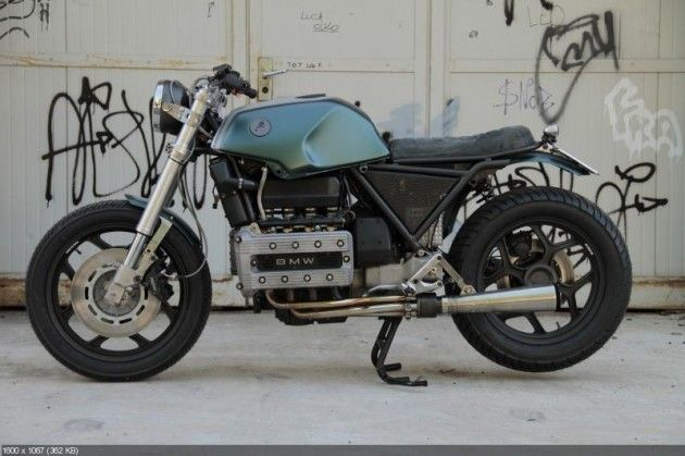Custom Motorcycle Bmw K100 Tatanka By Moto Sumisura K75