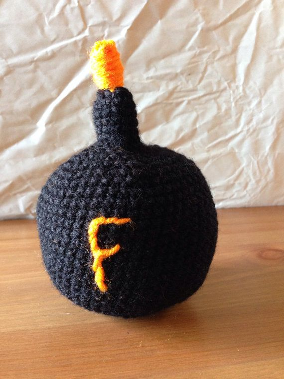 Mature Content F Bomb Toy Crochet by SweetBabyDesi on Etsy ...