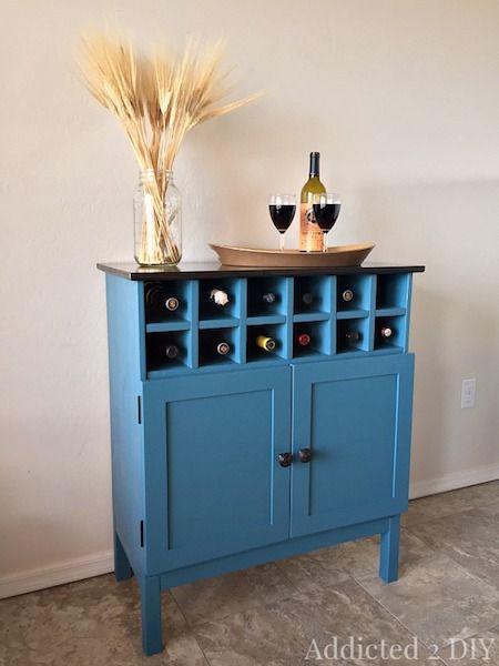 Extreme Makeover IKEA Tarva Dresser Turned Bar Cabinet Extreme - ikea sideboard küche