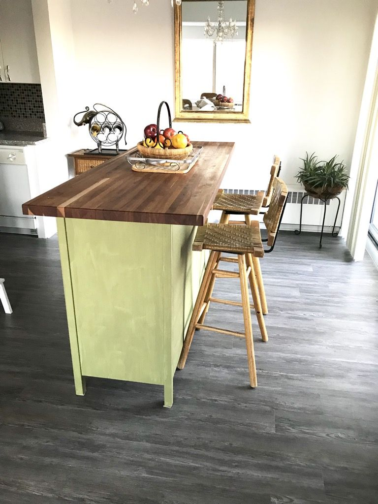 rustic kitchen island this is how i hacked hemnes kitchen island ikea hack rustic kitchen on kitchen island ideas diy ikea hacks id=63737