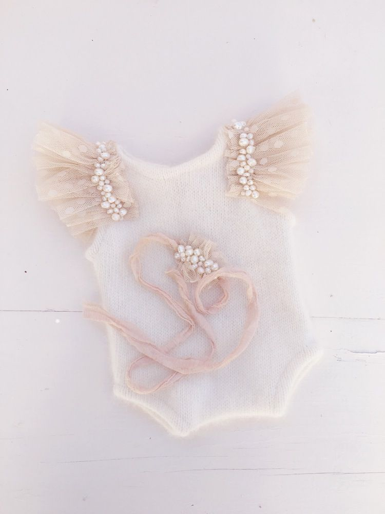 0d238923aa1 Image of Beaded Champagne Romper