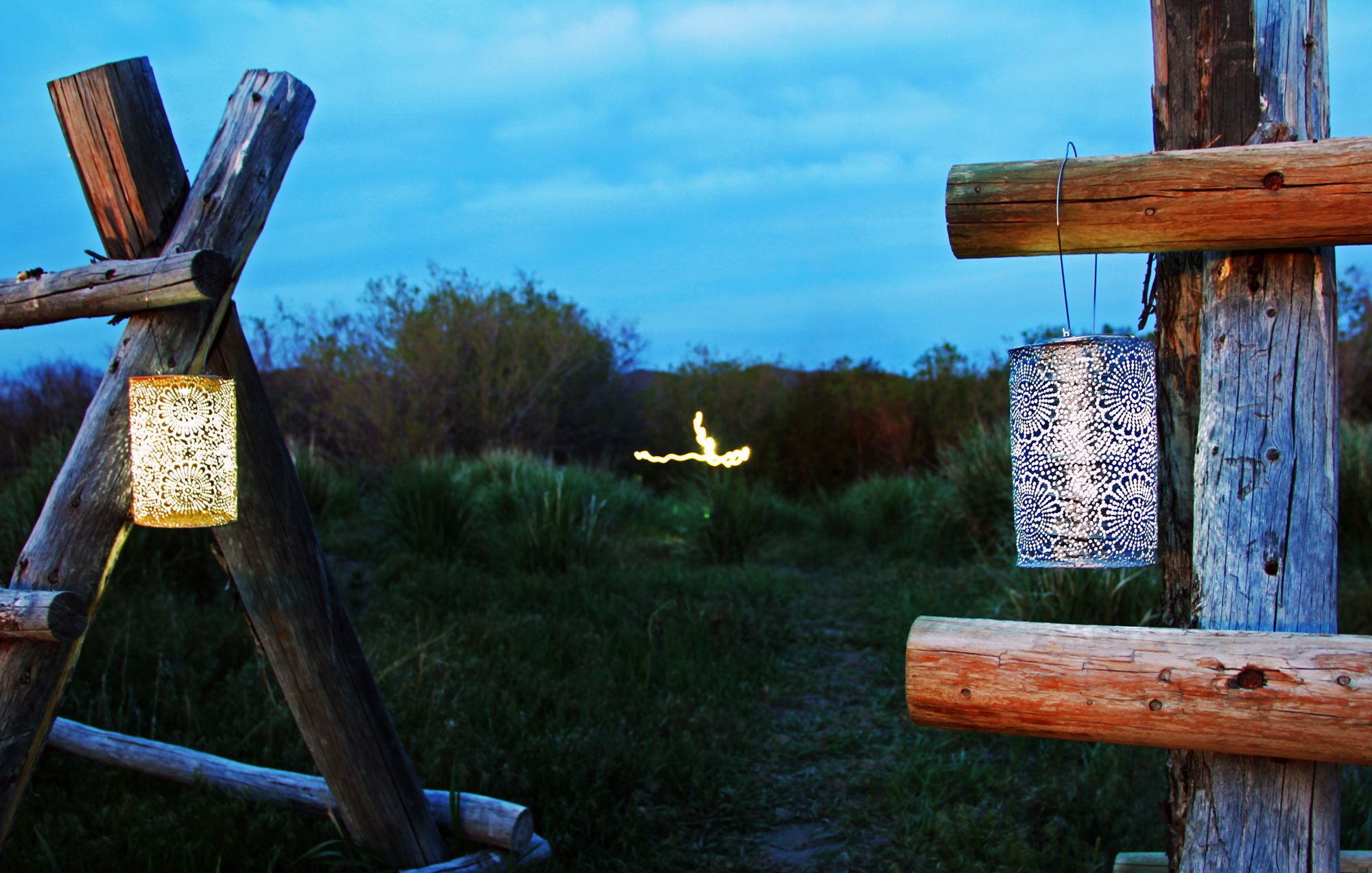 Our Soji Stella Lanterns From Allsop Garden Are Great To Take Camping.  There Are No