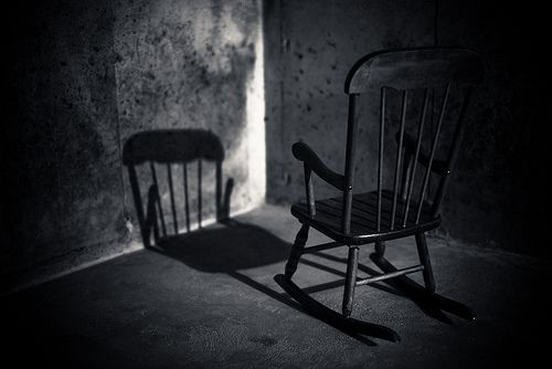 Chair Black And White Photography