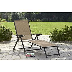 Brookner Sling Folding Chaise Lounge Folding Lounge Chair Patio