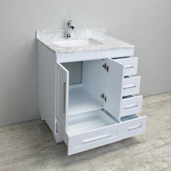 Photo of Kempst 31″ Single Bathroom Vanity Set