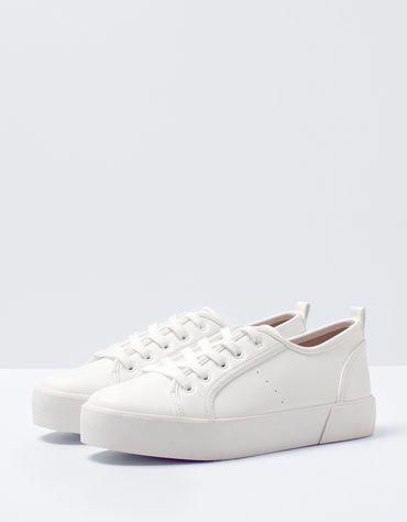 Bershka Bulgaria Bershka Platform Shoes Zapatos Bershka Zapatos Tenis Para Mujer Zapatos