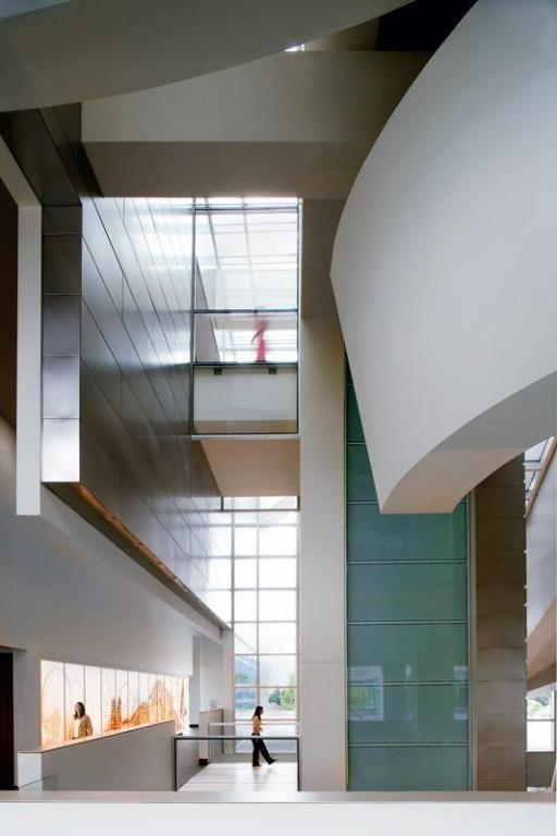Wayne L Morse US Courthouse Eugene Oregon Designed By Morphosis Architects
