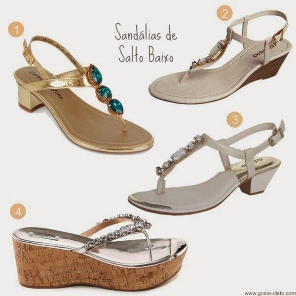 Começando o ano com o pé direito: Sandálias e sapatos com pedrarias