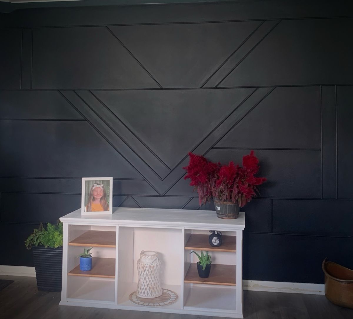 Black Accent Wall Black Accent Walls Accent Wall Home Projects